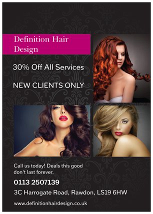 Hair Salon Offer 2017